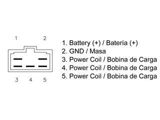 Régulateur TECNIUM type origine Yamaha FZ6 Fazer - 03924a08-f7a6-454a-aacc-efb7def1ae04