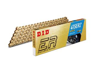 D.I.D 415 ER-Z Transmission Chain Gold/Gold 124 Links - 456530