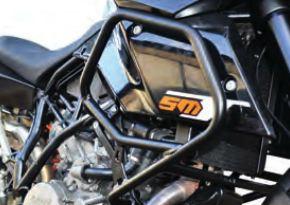 Defesas Bihr 990 SMT 11-14 Color aluminio mate