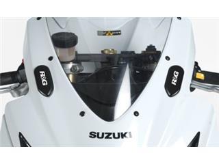 Caches orifice rétroviseur R&G RACING noir Suzuki GSX-R600/750