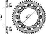 Couronne PBR 41 dents acier standard pas 520 type 4308