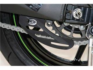 Protège couronne (dent de requin) R&G RACING ABS noir