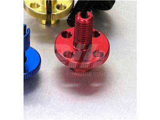 Tensor de Pro-Bolt M10 (1 piezas) Aluminio rojo LCA20R