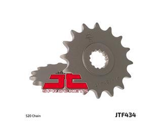 JT SPROCKETS Front Sprocket 15 Teeth Steel Standard 520 Pitch Type 434