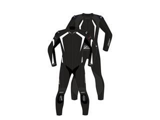 RST R-Sport CE Race Suit Leather White Size XL Men - 816000090271