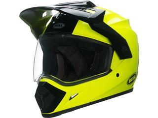 Casque BELL MX-9 Adventure MIPS Gloss HI-VIZ Yellow taille L - 7092696