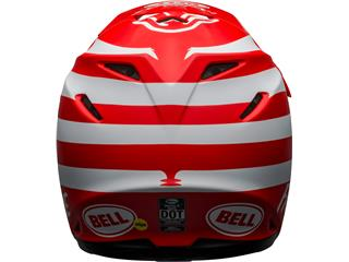 Casque BELL Moto-9 Mips Signia Matte Red/White taille L - 052684e9-27d0-42ea-9260-827d487a80be