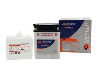 TECNIUM Battery BB14L-A2 Conventional with Acid Pack
