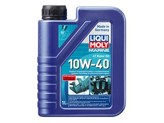 Botella 1L aceite de motor 4T marine sintético Liqui-Moly 10W-40 ACEA A3/B4/E7, API CI-4/S