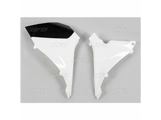 Caches boîte à air UFO blanc KTM SX-F250/350/450/505 - 78527610