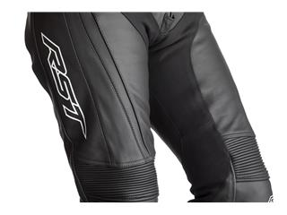 RST R-Sport CE Race Suit Leather Black Size L Men - 058a7453-06d5-48e1-b3a7-f4c72aa43d83
