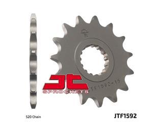 JT SPROCKETS Front Sprocket 15 Teeth Steel Standard 520 Pitch Type 1592