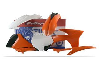Kit plastique POLISPORT couleur origine KTM - PS311ST11