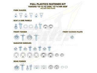 Kit tornillería de plástica Bolt 10-13 YZ250F 12-13 WR450F