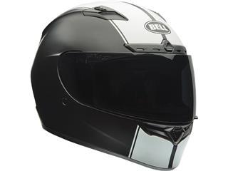BELL Qualifier DLX Helmet Matte Black/White Rally Size S