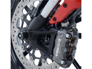 R&G RACING fork protectors black Ducati Scrambler