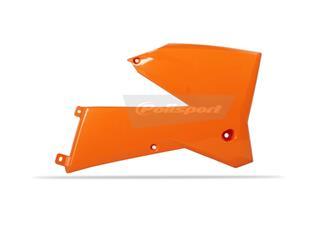 Ouïes de radiateur POLISPORT orange KTM - PS315K09