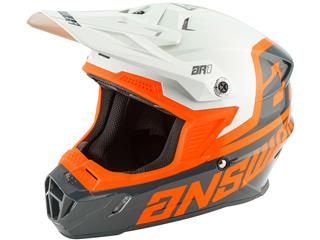 Casque ANSWER AR1 Voyd Charcoal/Gray/Orange taille XL - 801000440171