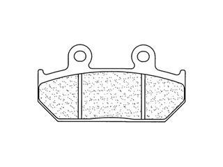 Plaquettes de frein CL BRAKES 2248S4 métal fritté - 272248S4