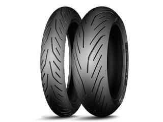Pneu MICHELIN PILOT POWER 3 180/55 ZR 17 M/C (73W) TL