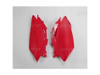 Plaques latérales UFO rouge Honda CRF250R/450R - 78166231