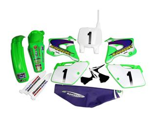 Kit plastique & déco UFO EMIG Team USA Replica Kawasaki KX125/250 - 4420000290
