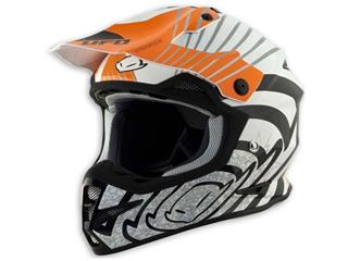 Casque UFO Warrior Shock orange T.L - 433501L