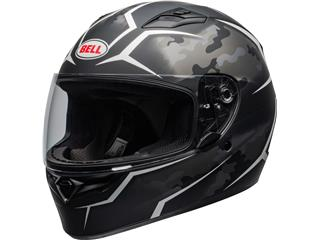 BELL Qualifier Helmet Stealth Camo Black/White Size L - 800000330270
