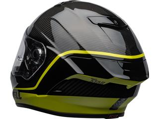 BELL Race Star Flex DLX Helmet Velocity Matte/Gloss Black/Hi Viz Size XXL - 080df4d8-4b7c-476d-8cab-e009504668a6