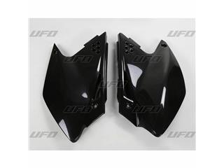 Plaques latérales UFO noir Kawasaki KX250F - 78227920