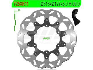 Disco de freno NG kit ondulado725XK11 Ø320 x Ø127 x 5