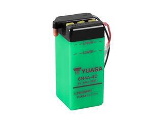 Batterie YUASA 6N4A-4D conventionnelle - 326N4A4D