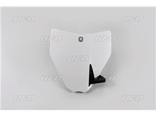 Porta-números delantero UFO blanco  Husqvarna TC85