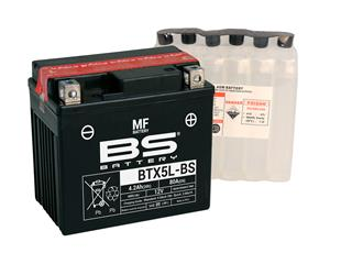 BS BATTERY Battery BTX5L-BS Maintenance Free with Acid Pack