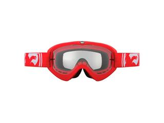 GOGGLES DRAGON MDX / FRAME RED / LENS CLEAR