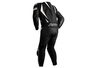 RST Tractech EVO 4 CE Race Suit Leather White/Black Size S Men - 092920a2-19b0-4b9e-9673-c90a06faf55f