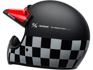 Casco Bell Moto-3 FASTHOUSE CHECKERS Negro/Blanco/Rojo, Talla XS - 094d09bd-0400-4fd6-bf13-6b8d17b678ff