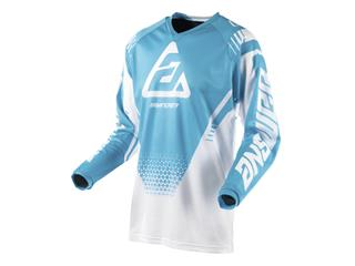 Maillot ANSWER Syncron Air Drift blanc/Astana taille XXL