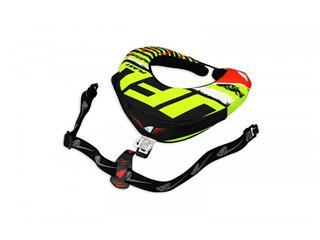 Proteção de pescoço UFO Bulldog, preta/verde, tamanho único - 0959c7fc-57d3-4e95-b462-59bbc355d99a