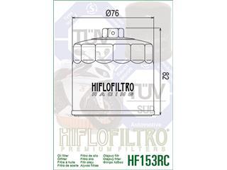 Filtre à huile HIFLOFILTRO Racing HF153RC noir Ducati - 0972fc20-160c-42e5-9a10-7facd843f9ec