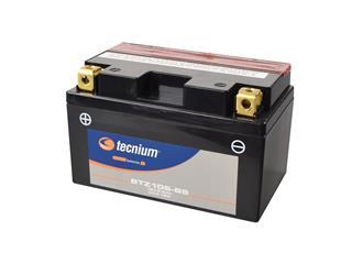 Batterie TECNIUM BTZ10S-BS sans entretien livrée avec pack acide