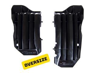 Cache radiateur grande capacité RACETECH noir Honda CRF450R/450RX - 7805089