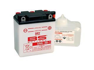 Batterie BS BATTERY 6N6-3B-1 conventionnelle livrée avec pack acide - 321857
