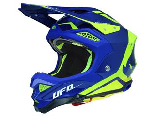 UFO Diamond Helmet Blue/Neon Yellow Size XS