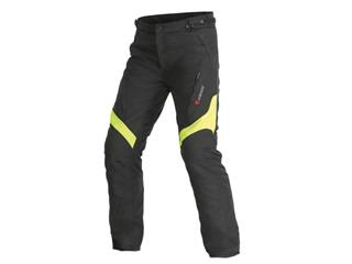 Dainese Tempest D-Dry Pants Black/Fluo Yellow Size 50 Man