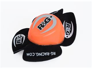 R&G RACING Aero Knee Sliders Orange