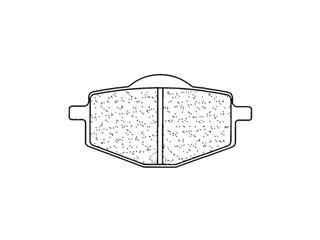 CL BRAKES Brake Pads 2284A3+ Sintered Metal