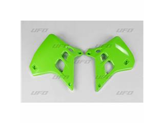 Ouïes de radiateur UFO vert Kawasaki KX125 - 78234042