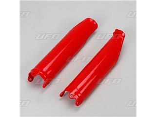 Protections de fourche UFO rouge Honda CRF450R/RX - 78105431