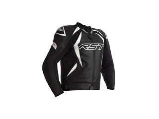 RST Tractech EVO 4 CE Jacket Leather White/Black Size 3XL Men